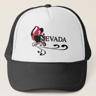 Fire Heart Nevada Trucker Hat