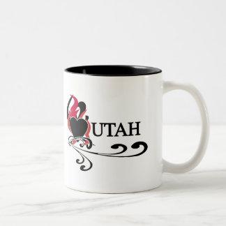 Fire Heart Utah Mugs