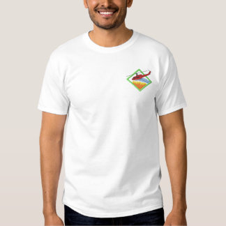 Fire Helicopter Embroidered T-Shirt