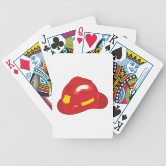 Fire Helmet Bicycle Playing Cards