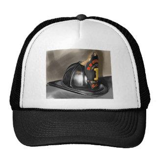 Fire Helmet Trucker Hats