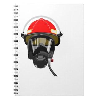 Fire Helmet Notebooks