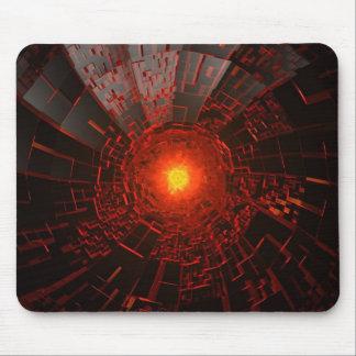 Fire hole mousepad