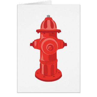 Fire Hydrant 2 Card