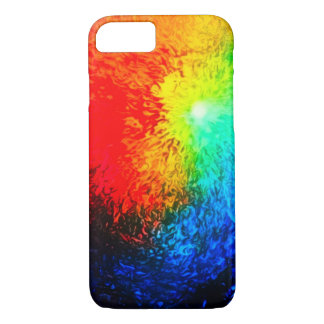 Fire & Ice Abstract Airbrush Art Custom iPhone iPhone 7 Case