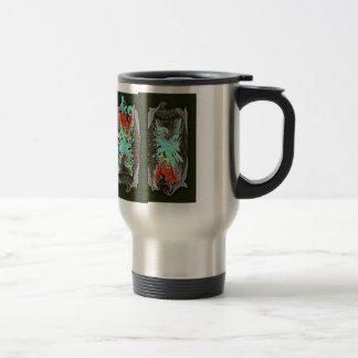 FIRE & ICE by SHARON SHARPE Stainless Steel Travel Mug