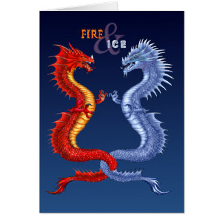 FIRE & ICE CARD