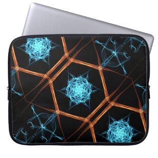 Fire Ice Flake Neoprene Laptop Sleeve 15