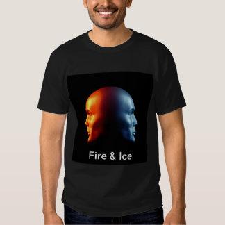 """Fire & Ice"" Janus heads T-shirt"