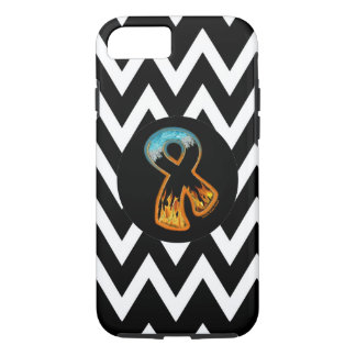 Fire & Ice Ribbon iPhone 7 Case