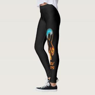 Fire & Ice Ribbon Leggings