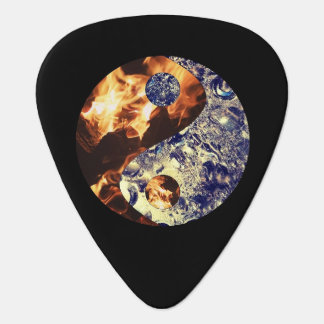 Fire & Ice Yin Yang Guitar Picks Plectrum