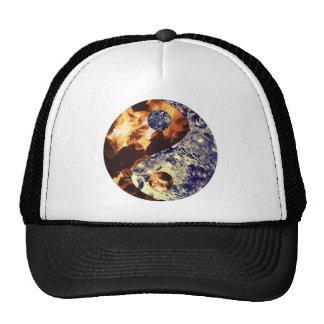 Fire & Ice Yin Yang Hat