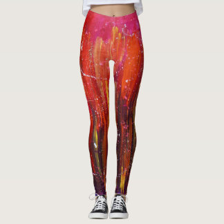 Fire In My Heart Leggings