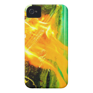 FIRE IN MY iPhone 4 COVER