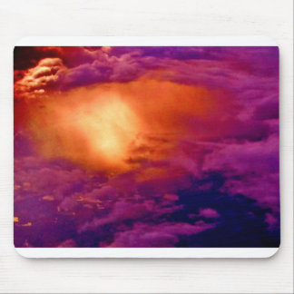 Fire in the Hole...in the Sky. Mouse Pad