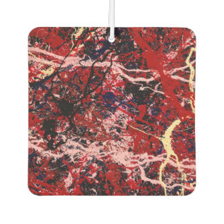 FIRE IN THE SKY (an abstract art design) ~