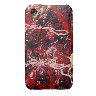 FIRE IN THE SKY (an abstract art design) ~ Case-Mate iPhone 3 Cases