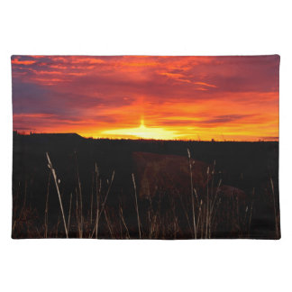 Fire in the Sky at Sunrise Placemat