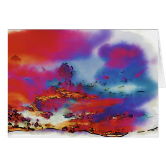Fire in the Sky Card