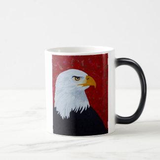 Fire In The Sky  Eagle Magic Mug