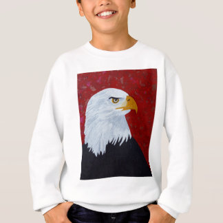 Fire In The Sky Eagle. Sweatshirt