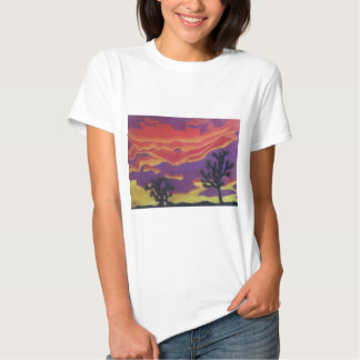 Fire in the Sky Fitted T-Shirt (Women's)
