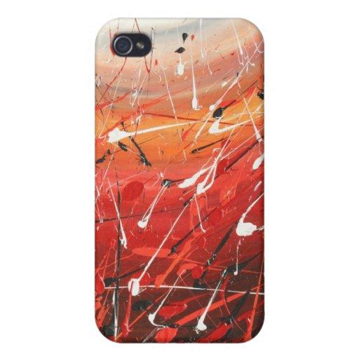 Fire In The Sky iPhone 4 Case