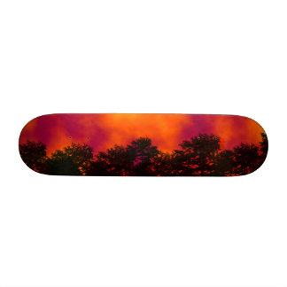 Fire in the Sky Skateboard / Skateboard Deck