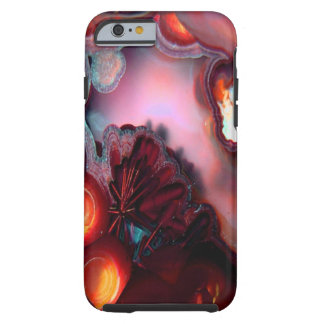 Fire Inside Agate Crystal Art Tough iPhone 6 Case