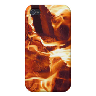 Fire! iPhone 4 Skin Case For The iPhone 4