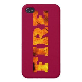 Fire iPhone 4/4S Case
