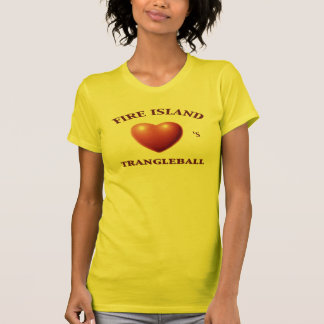 Fire Island Hearts Trangleball T-Shirt
