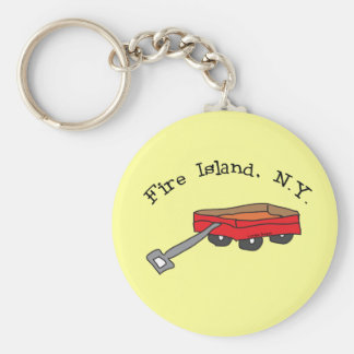 Fire Island Key Ring