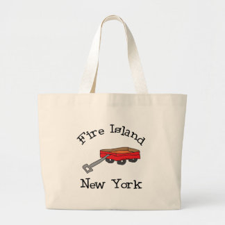 Fire Island Large Tote Bag