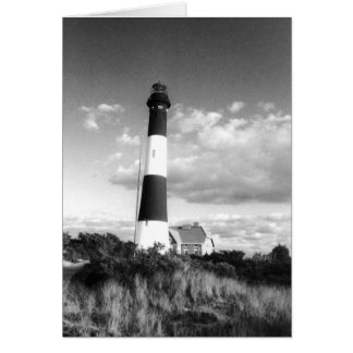 'Fire Island Lighthouse' Blank Greeting Card