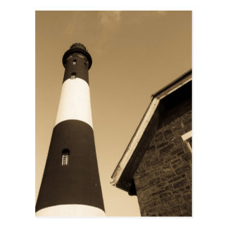 Fire Island Lighthouse - Postcard