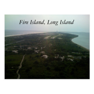 Fire Island, Long Island Postcard