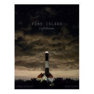 Fire Island NY. Postcard