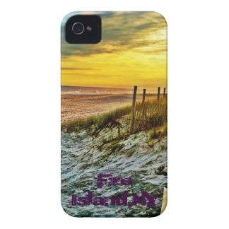 Fire Island Sunset on the Beach iPhone 4 Cases