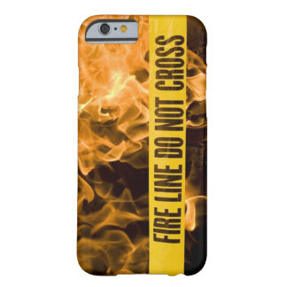 """Fire Line DO Not Cross"" IPhone6/6s Case"