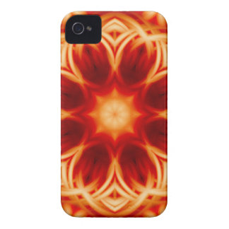 Fire Lotus Mandala Case-Mate iPhone 4 Case