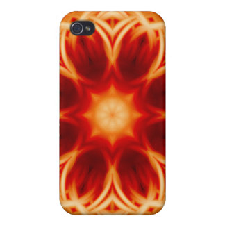 Fire Lotus Mandala Cases For iPhone 4