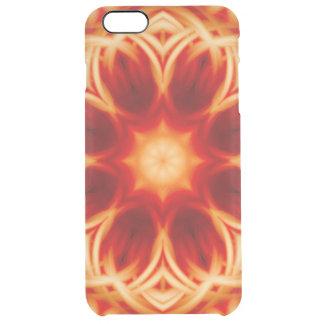 Fire Lotus Mandala Clear iPhone 6 Plus Case