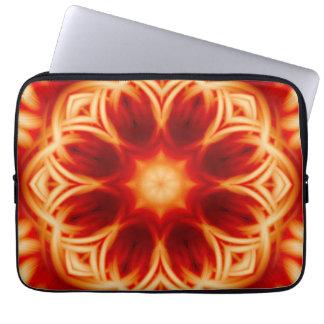 Fire Lotus Mandala Computer Sleeves