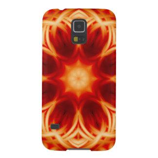 Fire Lotus Mandala Galaxy S5 Case