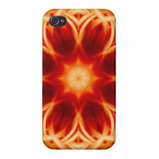 Fire Lotus Mandala iPhone 4/4S Case