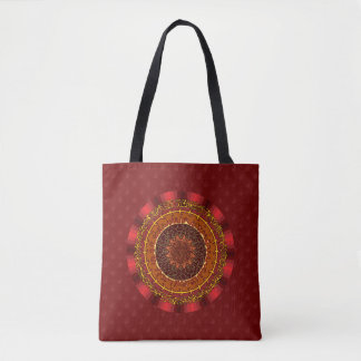 Fire Mandala All-Over-Print Bag