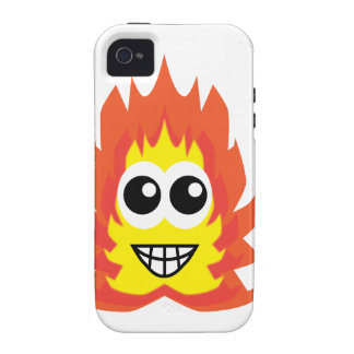 Fire Monster Cartoon Vibe iPhone 4 Cases