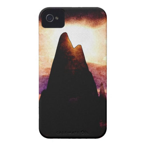 Fire Mountains iPhone 4 Case-Mate Case